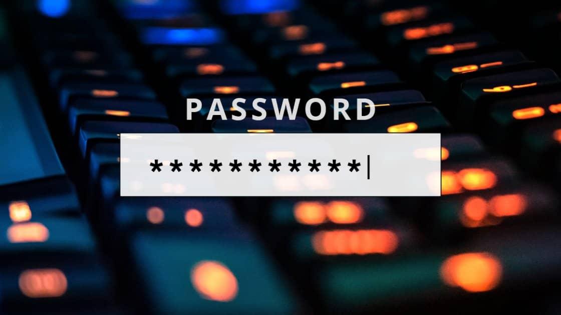 Passsword Header